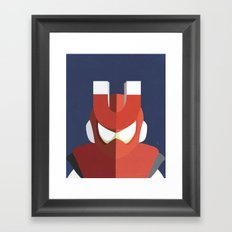 Magnet Man Boss Framed Art Print