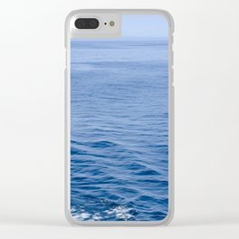 She Fell in Love on the Vast Wild Sea Clear iPhone Case