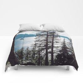 Mountain Lake Retreat Comforters