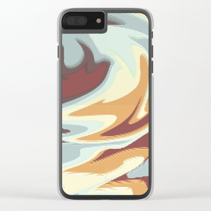 Abstract rose Clear iPhone Case