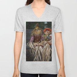 Scarecrow Family Unisex V-Neck