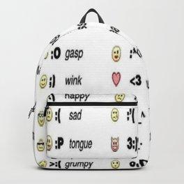 Emoji's for fun Fashion! Backpack