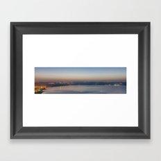 Arbel cliff, Israel Framed Art Print