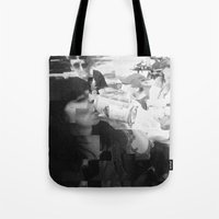 melissa smith Tote Bags featuring melissa by Chantal Lefebvre