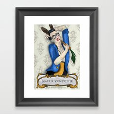 Mr McGregor Framed Art Print