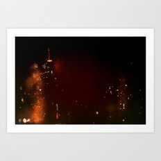 Lost in Some City No. 1 Art Print