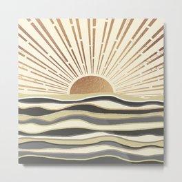 Sun Breeze-Magnolia shade Metal Print