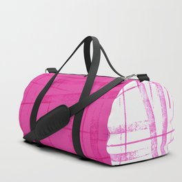 A hot pink mess Duffle Bag