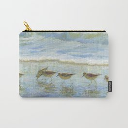 Shorebirds, A Day at the Beach Carry-All Pouch