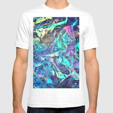 Holographic II White X-LARGE Mens Fitted Tee