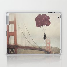 Floating over the Golden Gate Laptop & iPad Skin