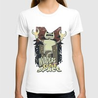outer space T-shirts featuring Invaders from outer space by Tshirt-Factory