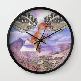 Prehistoric Wall Clock