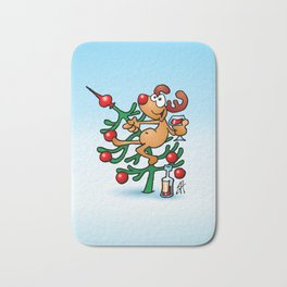 Rudolph the Red Nosed Reindeer Bath Mat