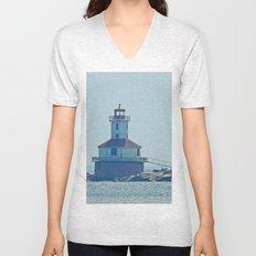 Indian Head Lighthouse PEI Unisex V-Neck