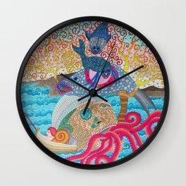 CreepyFish Wall Clock