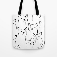 Mate,Friends,French bulldog Tote Bag