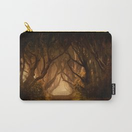 Sunny morning at Dark Hedges Carry-All Pouch