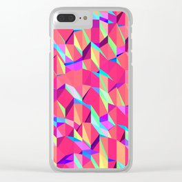Untitled Pattern Clear iPhone Case