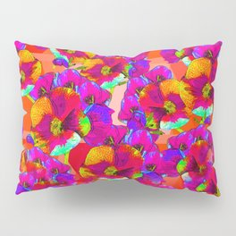 Flowers 2 - Fuchsia Pillow Sham