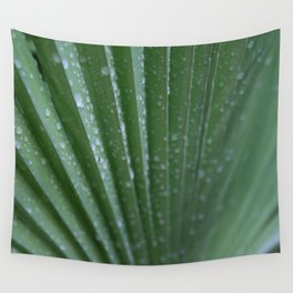 Green Palm Frond DPG160217-15 Wall Tapestry