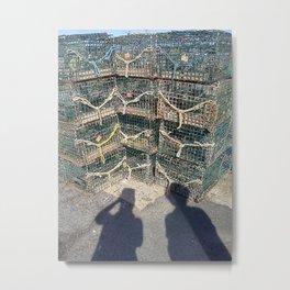 Traps and Shadows Metal Print