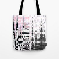 chaos Tote Bags featuring CHAOS by Ylenia Pizzetti