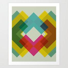 Cacho Shapes XXXVI Art Print