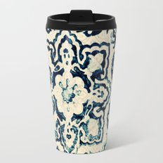tile pattern - Portuguese azulejos Travel Mug
