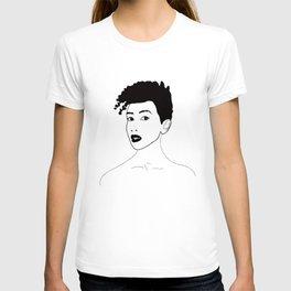Simply black lady T-shirt