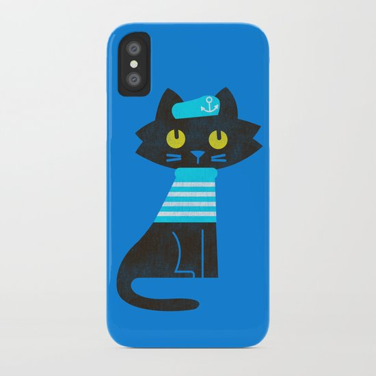 Fitz - Sailor cat iPhone Case
