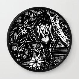 Conscious Wanderer Wall Clock
