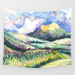 Path to Cloud Mountain Wall Tapestry