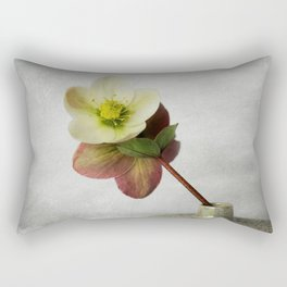 Vintage Helleborus  - JUSTART © Rectangular Pillow