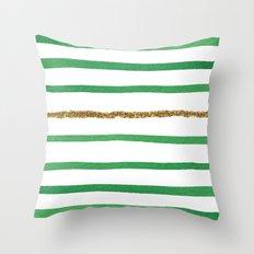 Sparkle Stripe II Throw Pillow