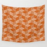 escher Wall Tapestries featuring Escher #002 by rob art | simple