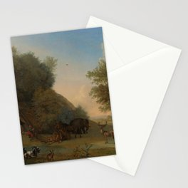 Orpheus and the Animals - Paulus Potter (1650) Stationery Cards