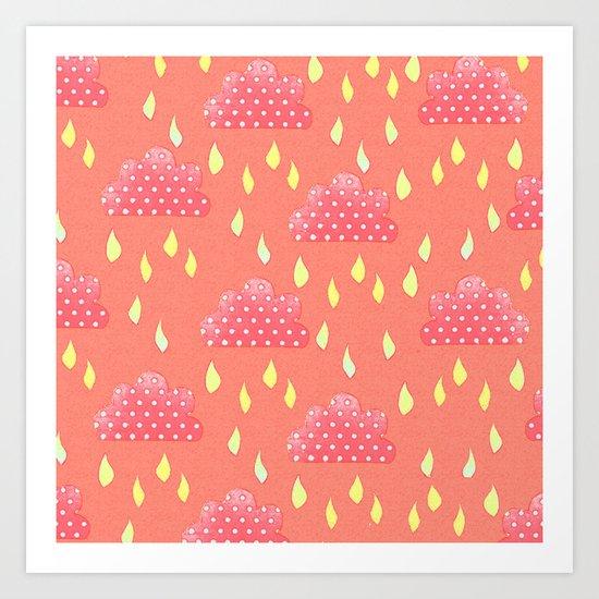 Summer Showers Art Print