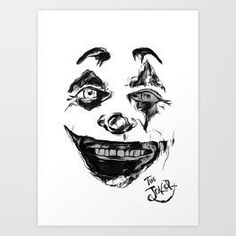 Put on a happy face Art Print