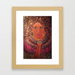 Recognized Beauty Framed Art Print