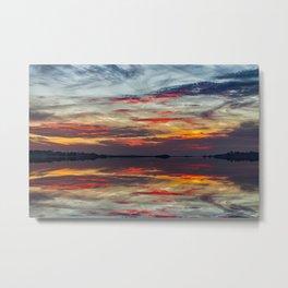 Fripp Inlet Sunset Metal Print