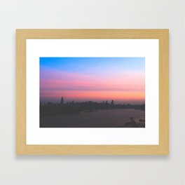NYC Sunrise Framed Art Print