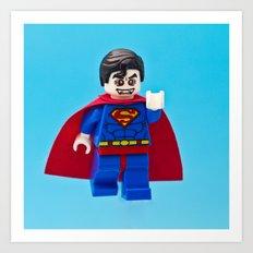 Superman's Guilty Secret Art Print