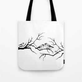 Family birds Tote Bag