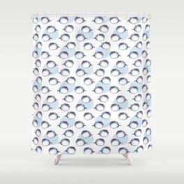 Fugu fish Shower Curtain
