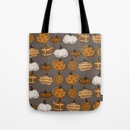 Pumpkin Party in Nougat Tote Bag