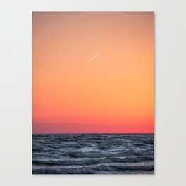 Sandbanks Sunset #1 Canvas Print
