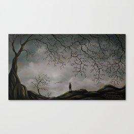 Sullen Days Canvas Print