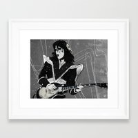 spaceman Framed Art Prints featuring Spaceman by Ed Pires