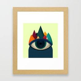 068 - I've seen it owl Framed Art Print